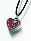 Enamel heart 187