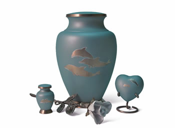Aria Dolphin Urn