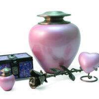Satori Pink Pearl Urn