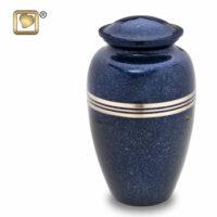 Classic Speckled Indigo Urn