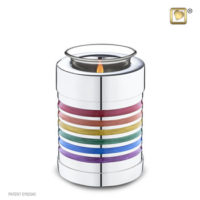 Rainbow Tealight Urn