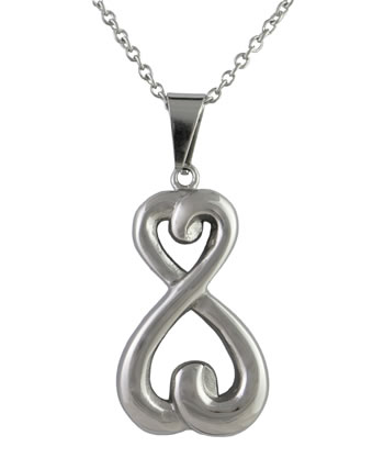 Infinity Pendant - Stainless Steel