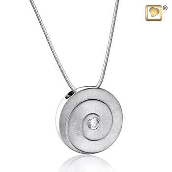 Treasure Pendant - Eternity - Silver