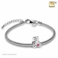 Pink Bear Bead