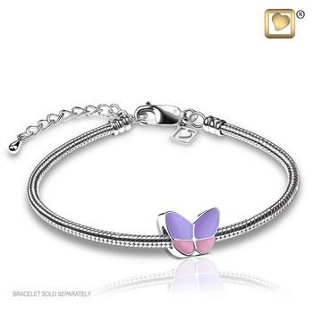 Wings of Hope Bead - Lavender