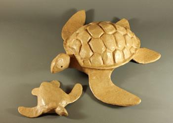 Biodegradable Paper Turtles