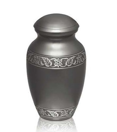 Classic Rustic Grey Urn