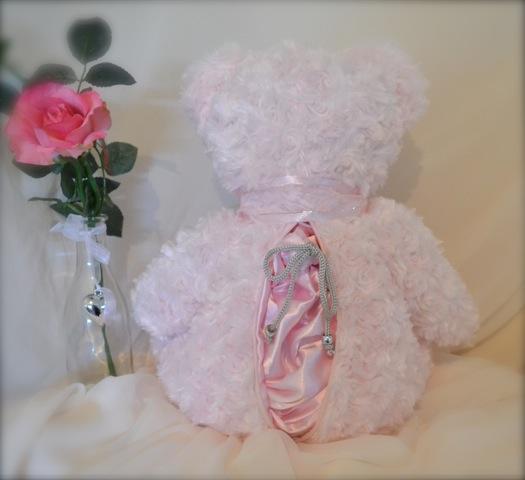 Cami Bear with large zip