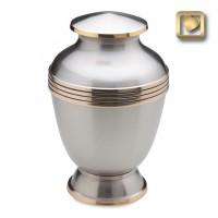 Elegant Pewter Urn