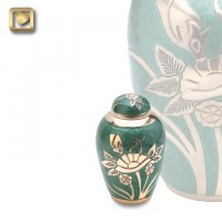 Emerald Rose Keepsake Urn