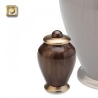 Simplicity Bronze Tall Keepsake Urn