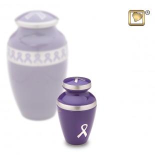 Awareness Purple Keepsake Urn