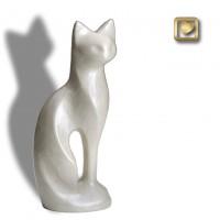 Graceful Cat White