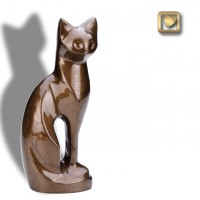 Graceful Cat Bronze