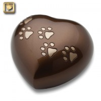 Love Heart Bronze Large