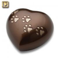 Love Heart Bronze Large