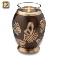 Tealight Butterflies Keepsake Urn