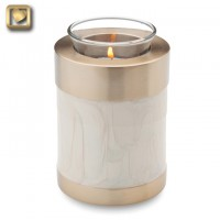 Tealight Pearl Keepsake Urn